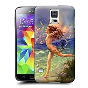 Unique Phone Case Fashion girl#14 Hard Cover for samsung galaxy s5 cases-buythecase