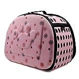 EchoAcc® Cool Breathable Sling Pet Dog Cat Carrier Tote Single Shoulder Bag (Pink)