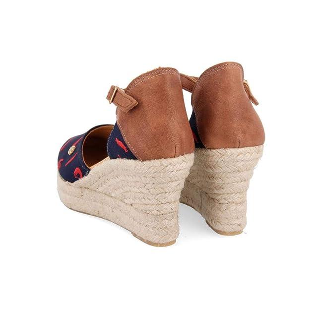 La siesta Gambas C, Alpargatas para Mujer: Amazon.es: Zapatos y complementos