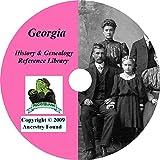 Georgia History & Genealogy on DVD - 96 books, Ancestry, Records, Family