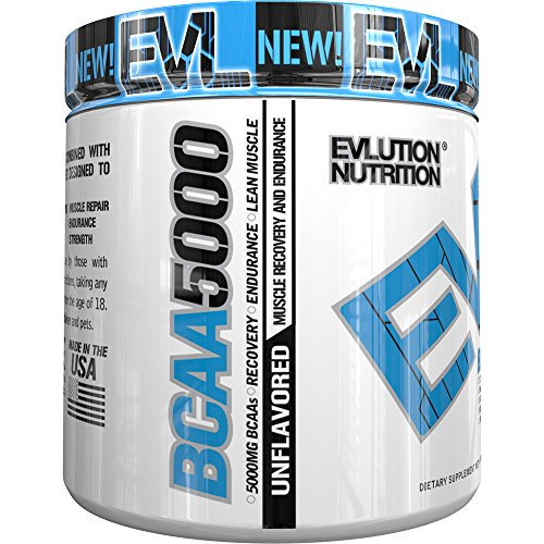 Evlution Nutrition BCAA5000 Servings Unflavored product image