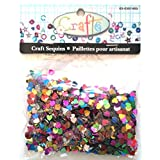 Multi Color Heart Shaped Craft Sequins