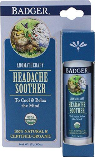 Badger Headache Soother - .6 oz Stick ()