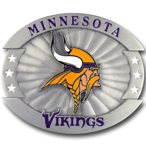 NFL Minnesota Vikings Oversized Buckle - Minnesota Vikings Belt Buckle
