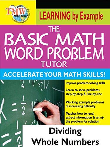 Basic Math Word Problem Tutor: Dividing Whole Numbers