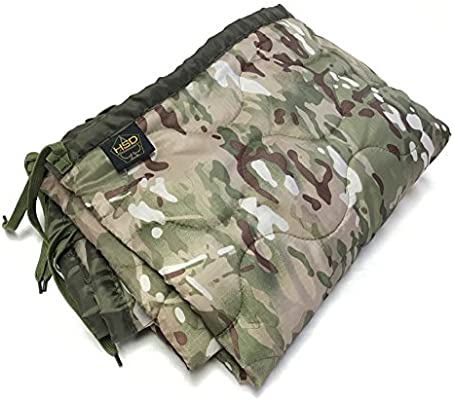 HighSpeedDaddy HSD Mini Woobie Military Style Poncho Liner Kids Baby Blanket Baby, Toddler, and Adult Sizes