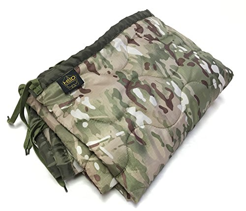 HighSpeedDaddy HSD Mini Woobie Military Style Poncho Liner Kids Baby Blanket (Multicam, Toddler) ()