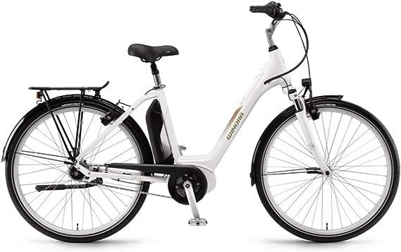 Unbekannt Winora Sima N7 400 WH Bosch Bicicleta eléctrica 2018, Color Weiß, tamaño 28