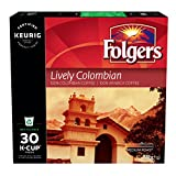 Folgers Lively Colombian K-Cup Coffee Pods, 30 K-Cup Pods, 270g