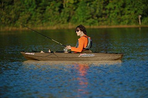 Sun dolphin journey sit on top fishing kayak 10 feet for Sit on fishing kayak
