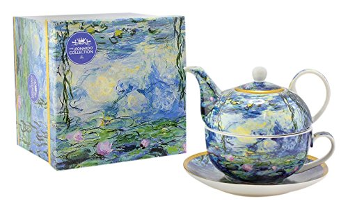 Lesser & Pavey Water Lily Tea For One, Blue LP92812A