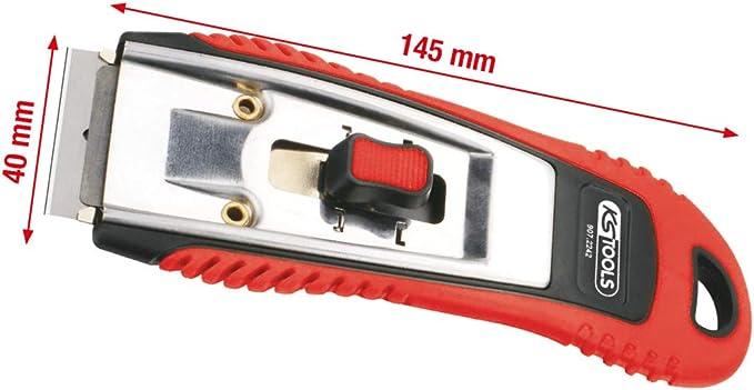 Raspador con hoja retr/áctil KS Tools 907.2242/