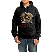 Sandyx Youth Queen Greatest Hits Boys Girls Hoodies Sweatshirt Size US Black