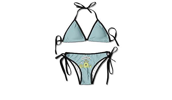 MOMOAN Sexy Push Up Unpadded Bikini Set Women I'm A Fucking Unicorn Adjustable Swimsuit Beach Suit Bathing Suits 7cKuf0mw