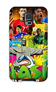 Galaxy S5 Cover Case - Eco-friendly Packaging(fifa World Cup 2014 Desktop)