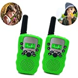 Three Ducks Toys for 4-5 Year Old Boys, Long Range Walkie Talkies for Kids Outdoor Toys Games Gifts for 3-12 Year Old Boys Girls Birthday Presents Mothers Day Gifts(Green)