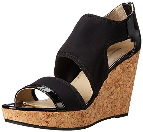 Adrienne Vittadini Footwear Sandales Compensées Chelle Noir