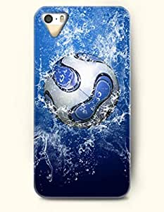 OOFIT Phone Case design with Powerful Burst of Energy-Football for Apple iPhone 5 5s 5g