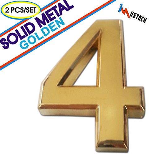 2-pcs-of-number-4-solid-metal-mailbox-number-in-golden-plating-blk-tech-2-3-4-inch-eco-friendly-mail