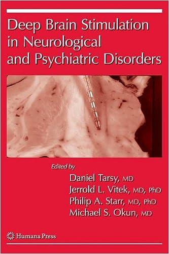 Deep brain stimulation in neurological and psychiatric disorders deep brain stimulation in neurological and psychiatric disorders current clinical neurology 9781588299529 medicine health science books amazon fandeluxe Gallery