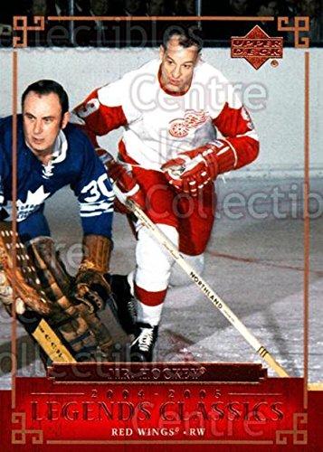 (CI) Gordie Howe Hockey Card 2004-05 UD Legends Classics (base) 27 Gordie ()