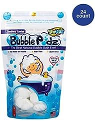TruKid Bubble Podz, Natural Bubble Bath for sensitive skin, Yumberry Scent, 24 count