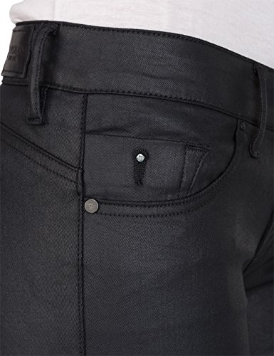 Back Skinny Denim Jeans Donna Nero Zip 7 Luz black Replay 4Fqxw5a4
