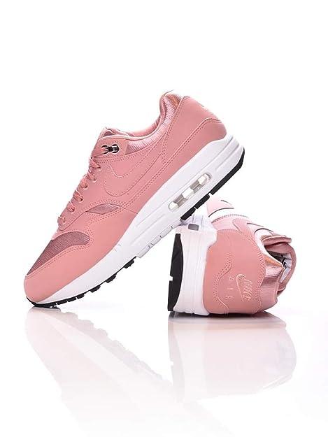 Nike Wmns Air MAX 1 Se Zapatillas Mujer Rosa: Amazon.es: Zapatos y complementos