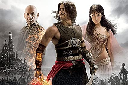 Amazon Com Prince Of Persia Sands Of Time F Tv Movie Film Poster Fabric Silk Poster Print B0128 27 Posters Prints