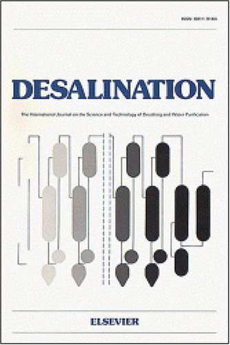 Direct contact membrane distillation mechanism for high concentration NaCl solutions [An article from: Desalination]