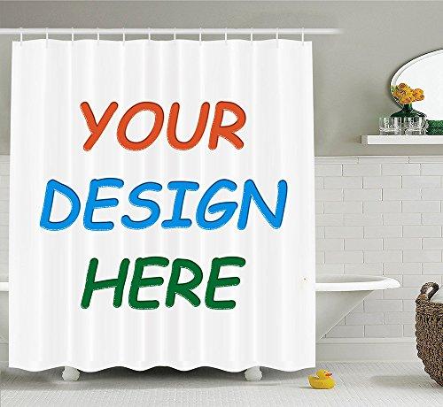 Professional Custom Shower Curtain/Bath MAT (69x70'' Shower Curtain)