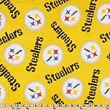 Amazon.com: NFL Fleece Pittsburgh Steelers Black Fabric By