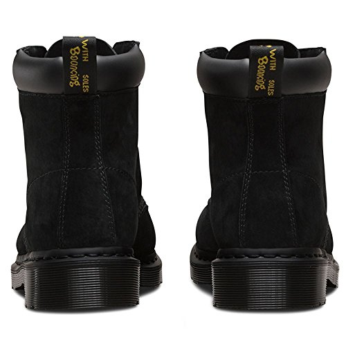 Dr. Martens Mens Saxon 939 Boot Black Soft Buck