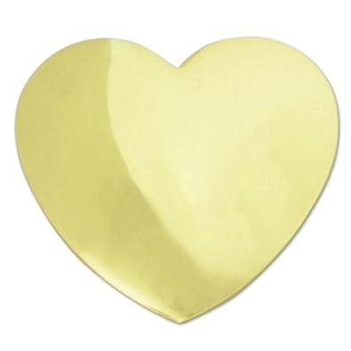 ffcca66f01e Amazon.com: Gold Heart Lapel (single ): Brooches And Pins: Jewelry