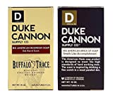 Duke Cannon - Buffalo Trace Bourbon Soap and Big American 'Smells Like Accomplishment' Bar Soap Combo