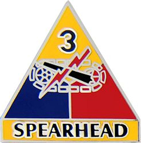 3rd Armored Division Small Hat Pin (Armored Division Small Hat Pin)