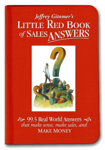 little red sales book - 2