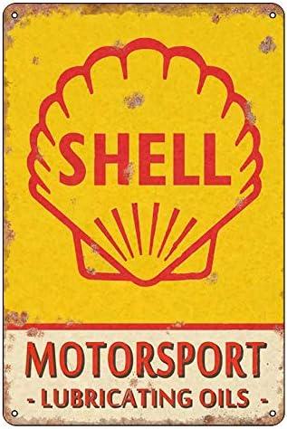 Tin signes Poster en m/étal Gift 200mm x 300mm Une /œuvre dart pr/écieuse Shell Vintage Classic Advert Garage Metal Wall Garage Sign Garden Shed Plaque Tin vous le m/éritez-TPH0069