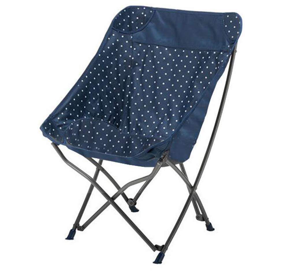 Klappstühle Draussen Freizeit tragbarer fischerstuhl strandstuhl skizzestuhl campingstuhl mondstuhl,Blau