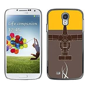 A-type Arte & diseño plástico duro Fundas Cover Cubre Hard Case Cover para Samsung Galaxy S4 (Diseño abstracto)
