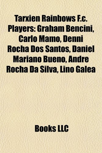 Tarxien Rainbows F.C. Players: Graham Bencini, Carlo Mamo, Denni Rocha DOS Santos, Daniel Mariano Bueno, Andre Rocha Da...