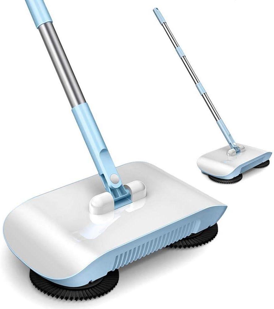 Jstyal968 Yalztc-zyq16 Inicio Empuje barredora Empuje Manual Aspirador Cuarto de baño Dormitorio Mojado y seco Artículos de Limpieza Diaria, Azul 102 X 33 X 16.3cm (Color : Blue): Amazon.es: Hogar