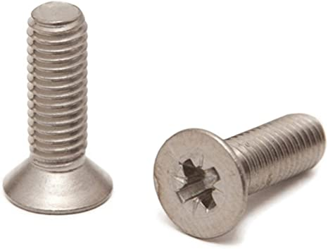 Gewindeschrauben M6 x 65 mm Senkkopfschrauben mit Innensechskant ISO 10642 Senkkopf Schrauben Edelstahl A2 V2A Vollgewinde 10 St/ück - DIN 7991 rostfrei Eisenwaren2000