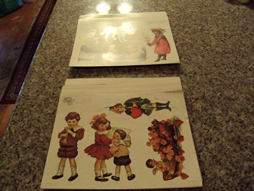 58 Pages of The Gretna Collection Paper Dolls Series #1 and #3