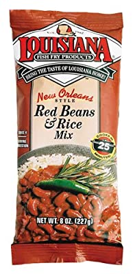 LOUISIANA Red Beans & Rice Mix 8 oz. Bag (single)