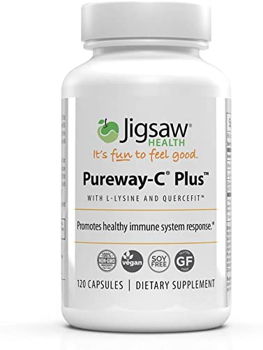 Jigsaw Health – Pureway-C Plus with L-Lysine and Quercetin – 120 Count