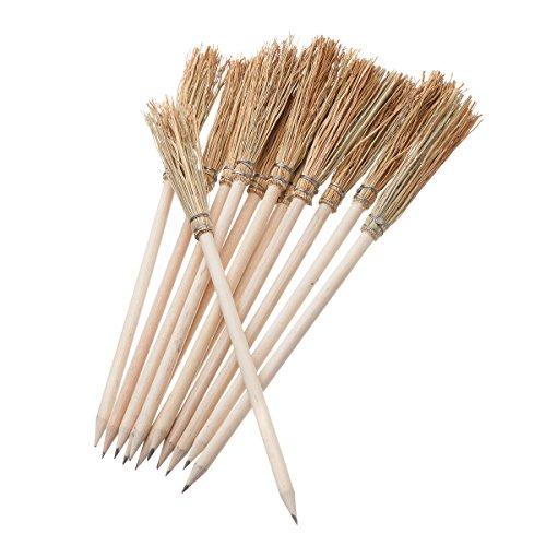12 pcs. Fantasy Pencil Broom. 9.80