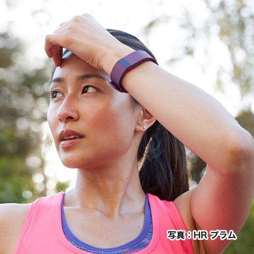 【日本正規代理店品】Fitbitワイヤレス活動量計+心拍計リストバンドChargeHRLargeBlackFB405BKL-JPN