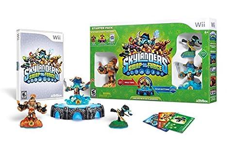 Skylanders SWAP Force Starter Pack - Nintendo Wii (Earth To Earth Swamp Thing)