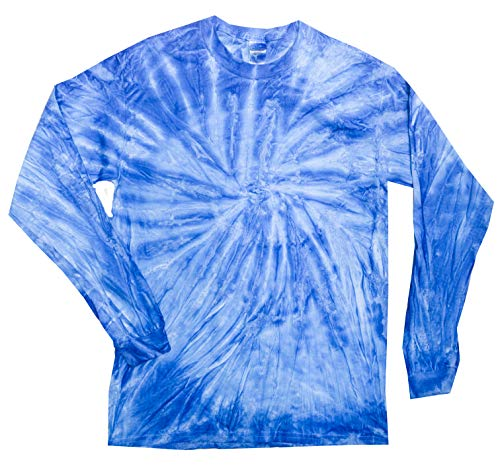 - Colortone Tie Dye L/S 2X Neon Blueberry